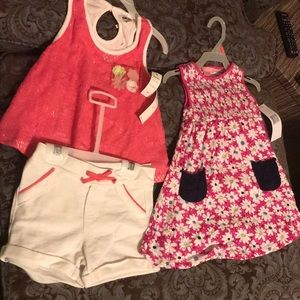 Adorable summer dress and DKNY outfit